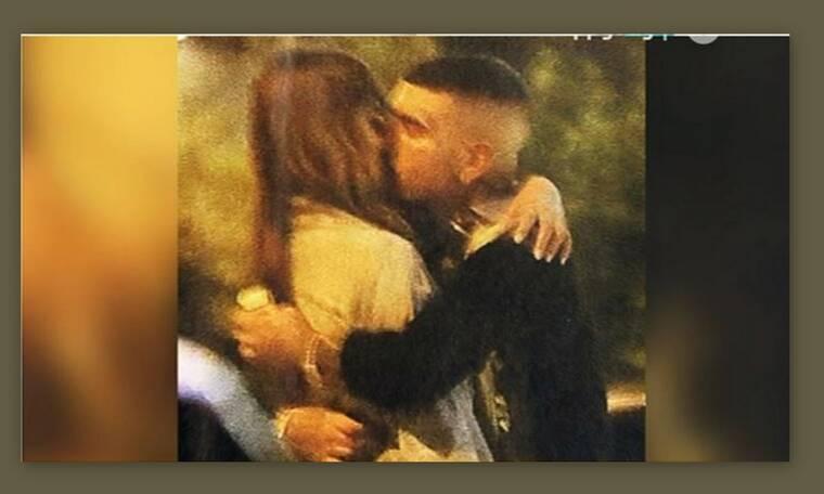 Ηλιάνα Παπαγεωργίου - Snik: Τα καυτά φιλιά τους  στη μέση του δρόμου (Video & Photos)