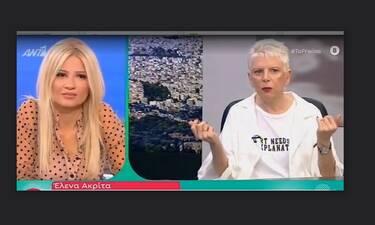 Έλενα Ακρίτα: «Λυπάμαι, δεν άλλαξα γνώμη επειδή μου ζητάει 100.000 ευρώ ο Σεφερλής...» (Video)
