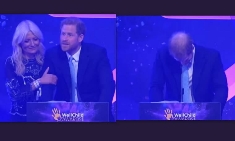 Ξέσπασε σε κλάματα ο πρίγκιπας Harry! Τι συνέβη και διέκοψε την ομιλία του; (Photos)