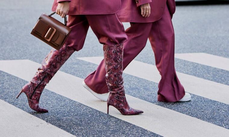 Οδηγός Αγοράς: 10 ζευγάρια κροκό και snake patterned μπότες για θηλυκές εμφανίσεις