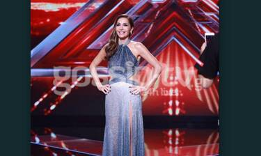 X Factor: Το φόρεμα της Βανδή στο πρώτο live τα… «σπάει» - Πιο λαμπερή και σέξι από ποτέ!(exclusive)