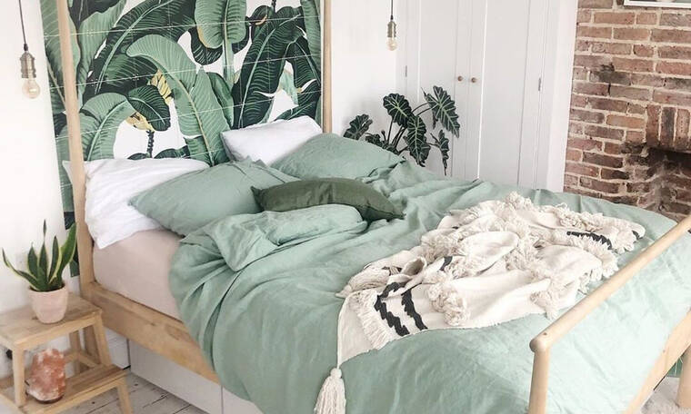 8 δωμάτια όπου το πράσινο αποδεικνύει ότι είναι ο βασιλιάς της θεραπείας και της χαλάρωσης