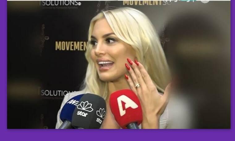 Αλεξάνδρα, κάνεις δουλειές με αυτό το νύχι; Πες μας το μυστικό! (Video & Photos)