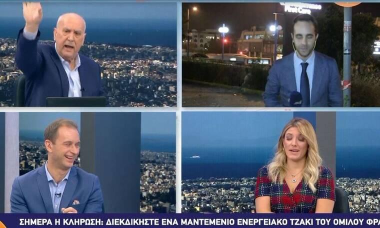 Απίστευτο στιγμιότυπο! Παπαδάκης σε ρεπόρτερ: «Είσαι άσχετος! Φύγε με τον πεοδείκτη» (Video)