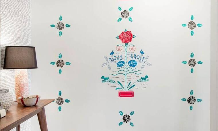 Σε κούρασαν οι ταπετσαρίες στους τοίχους; Αυτό είναι το νέο trend που θα σ' ενθουσιάσει