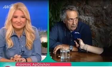 Κώστας Αρζόγλου: «Η Έλενα Ακρίτα καλά κάνει και δεν αλλάζει λέξη για τον Μάρκο Σεφερλή»