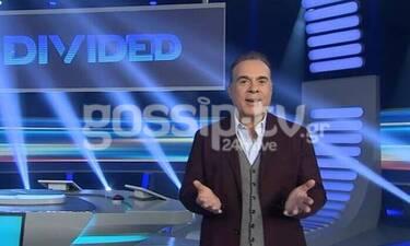 Ο Σεργουλόπουλος στο gossip-tv.gr: Το Divided, τα νούμερα τηλεθέασης και η... Μαρία Μπακοδήμου