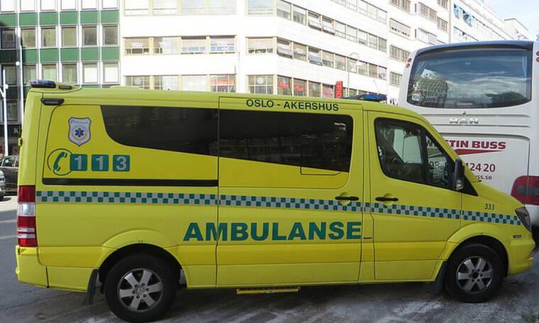 Συναγερμός στο Όσλο: Ένοπλος έκλεψε ασθενοφόρο κι έπεσε πάνω σε πλήθος