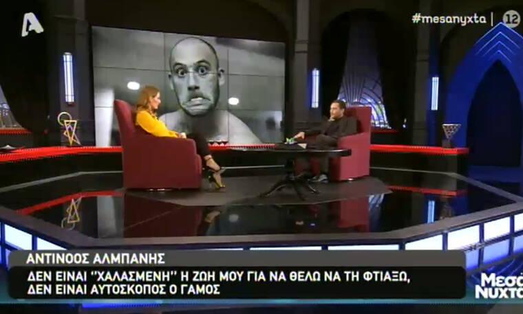 Μεσάνυχτα: Αντίνοος Αλμπάνης: Το λέμφωμα, ο φόβος και η παραδοχή: «Δεν ήθελα να νιώσω ανήμπορος»