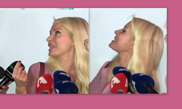 Η Ελένη τρελάθηκε με την ερώτηση ρεπόρτερ:«Έχω γενέθλια σε τρεις μέρες και άκου τι μου λέει»!