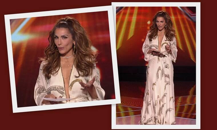 X Factor: Εκθαμβωτική η Δέσποινα Βανδή! Το σέξι μπούστο και το απίθανο φόρεμα (Photos)