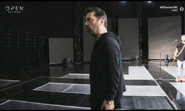 X Factor: Ποιος είδε τον Θεοφάνους και δεν τον φοβήθηκε! Ωρυόταν στην τελευταία πρόβα του γκρουπ!