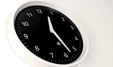 Γιατί αλλάζει η ώρα την Κυριακή;
