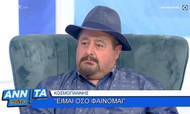 Πολύ γέλιο! O «Κοσμογιάννης» του X Factor στο «Αννίτα κοίτα»