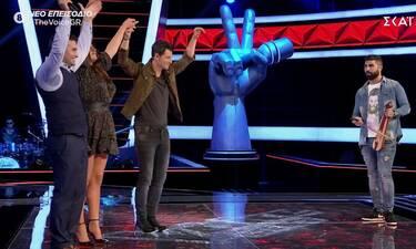 The Voice: Αν δεν έχεις δει Παπαρίζου - Ρουβά να χορεύουν ποντιακά, ήρθε η ώρα (pics&vid)