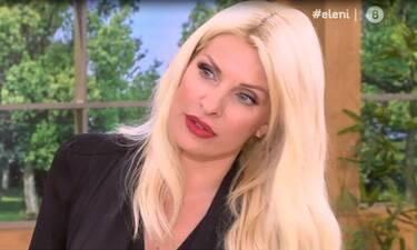 Ελένη: «Κάγκελο» με την αποκάλυψη συνεργάτη της  on air «Ρε θα με τρελάνεις»! (Video & Photos)