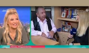 Ηλίας Μαμαλάκης: Έτσι έχασε 52 κιλά- Έδωσε τη δίαιτά του on air (Video & Photos)
