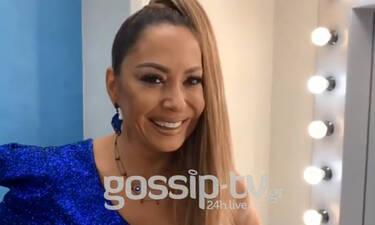Χ Factor: Με την Μελίνα Ασλανίδου στο καμαρίνι της (exclusive video)