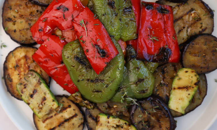 Ψητά λαχανικά εύκολα και γρήγορα