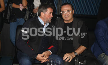 Παπαδόπουλος - Πανταζής: Νυχτοπερπατήματα για δύο - Πού τους εντοπίσαμε; (photos)