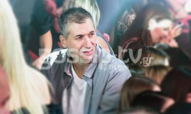 O Δημήτρης Διαμαντίδης γιόρτασε την ονομαστική του εορτή στον Κωνσταντίνο Αργυρό!