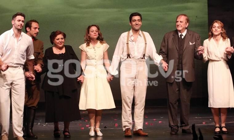 Θεατρική πρεμιέρα με τη μανούλα Λένα Παπαληγούρα να κλέβει την παράσταση! (photos)
