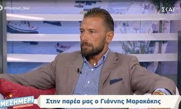 Γιάννης Μαρακάκης: Έτσι του ανακοίνωσε η Νίκη Θωμοπούλου πώς θα γίνουν γονείς για πρώτη φορά