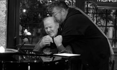 Το συγκινητικό «αντίο» του Σταμάτη Κραουνάκη στον Γιάννη Σπανό