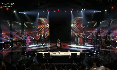 X Factor: Αυτός ο παίκτης αποχώρησε από το 3ο live του τάλεντ σόου! (photos+videos)