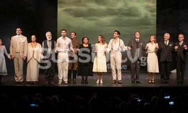 Όλα όσα έγιναν στην πρεμιέρα της παράστασης «Η Δασκάλα με τα Χρυσά Μάτια»! (photos)