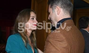 Αλέξανδρος Μπουρδούμης: Στην πρεμιέρα της συντρόφου του, Λένας Δροσάκη - Η περηφάνια δεν κρύβεται!