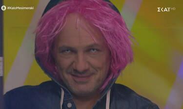 Ποια Heidi Klum; Ο Νίκος Μουτσινάς έκανε την απόλυτη Halloween μεταμφίεση (photos-video)