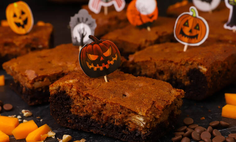 Brownies κολοκύθας από τον Γιώργο Τσούλη