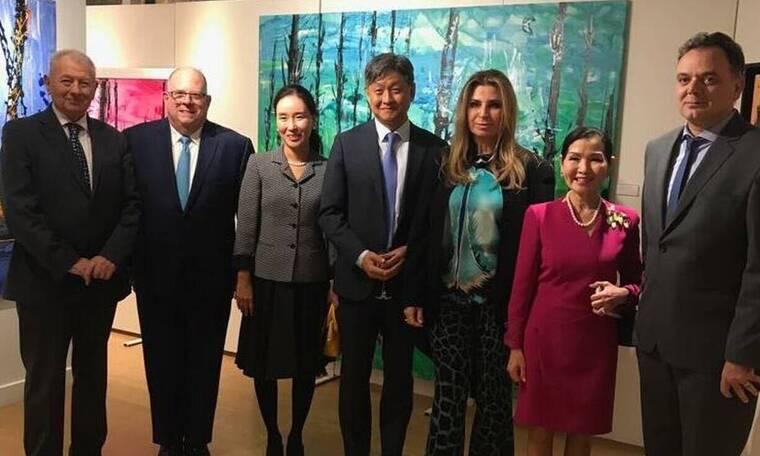 Εγκαινιάστηκε η έκθεση της Μίνας Παπαθεοδώρου Βαλυράκη και της Yumi Hogan