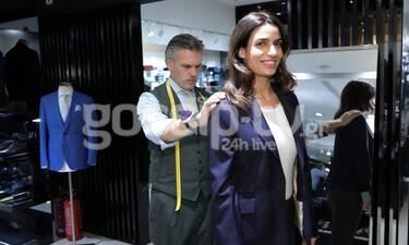 Το λαμπερό Fashion show και το ανδρικό κουστούμι που έραψε η Τόνια Σωτηροπούλου (photos)