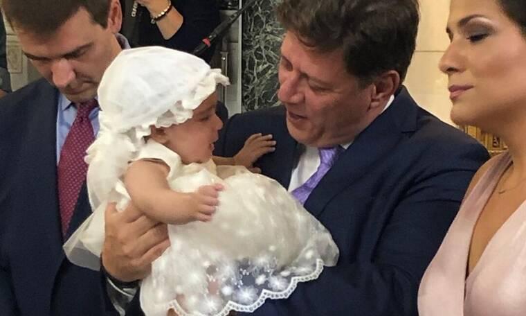 Βαφτίστηκε η Αλίκη Βουγιουκλάκη! Συγκινητικές στιγμές στη Γλυφάδα! (photos)