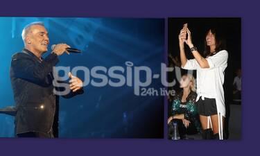 Ο Στέλιος Ρόκκος τραγουδάει κι η γυναίκα του τον απαθανατίζει (photos)