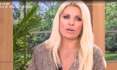 Ο εφιάλτης της Ελένης Μενεγάκη! (Video &  Photos)
