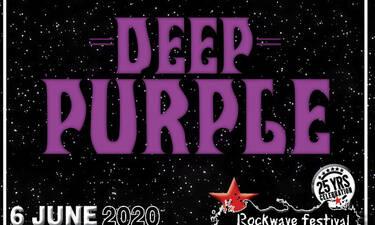 Rockwave Festival 2020: Οι Deep Purple στην 25η επέτειο του