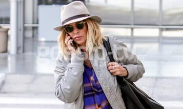 Άννα Βίσση: Αυτός ο τραγουδιστής την έκανε να κλείσει το κινητό στο αεροδρόμιο (photos)