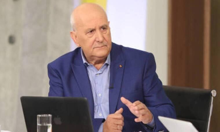 Γιώργος Παπαδάκης: Ακόμα ένα ατύχημα on air για τον δημοσιογράφο – Δείτε τι συνέβη (pics)