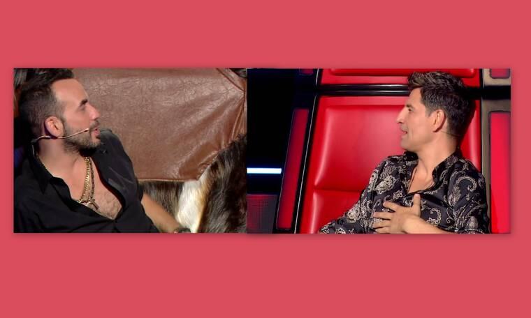The Voice: Ο Μουζουράκης την «είπε» στον Ρουβά: «Κλείσε τα αυτά σου» - Τι συνέβη; (Pics-Vid)