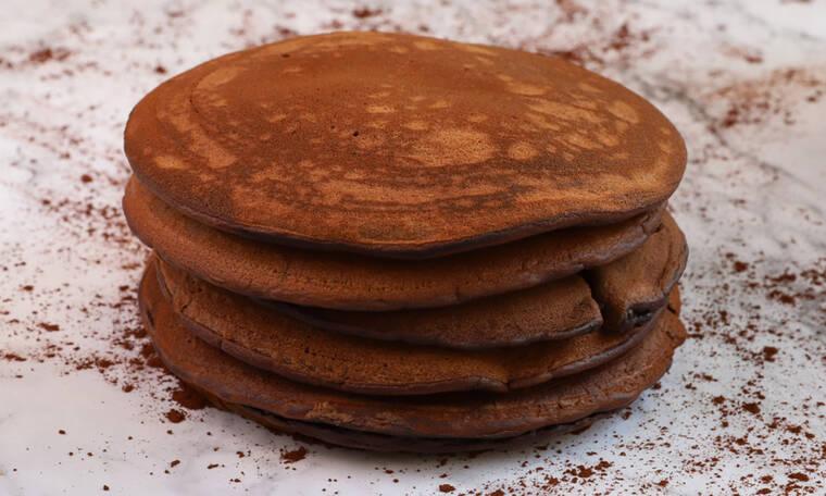 Σοκολατένια pancakes