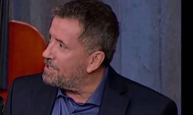 Στην υγειά μας ρε παιδιά: Έξαλλος ο Παπαδόπουλος με καλεσμένο του: «Θα γίνει μεγάλη φασαρία» (Video)