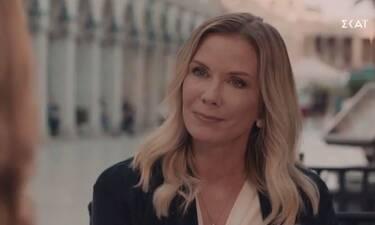 8 λέξεις: Η Katherine Kelly Lang εισβάλλει στη σειρά - Δείτε πλάνα από το σημερινό επεισόδιο (Video)