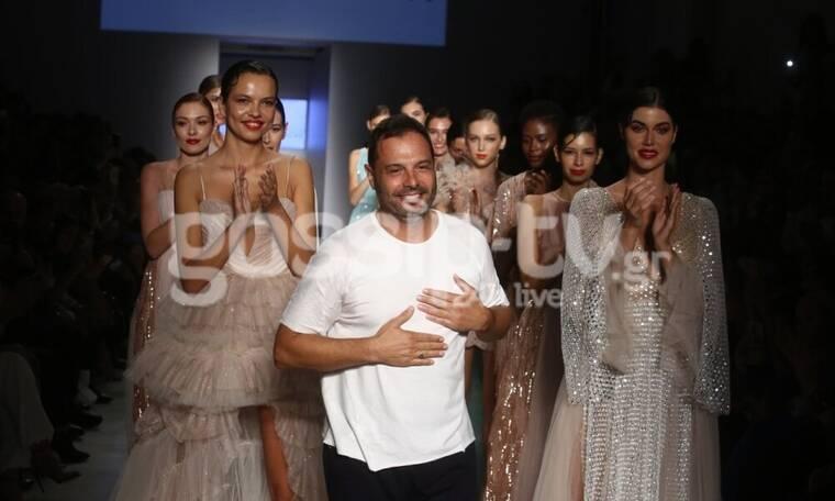 Tassos Mitropoulos: Οι λαμπεροί επώνυμοι στο φαντασμαγορικό fashion show για την 26η AXDW