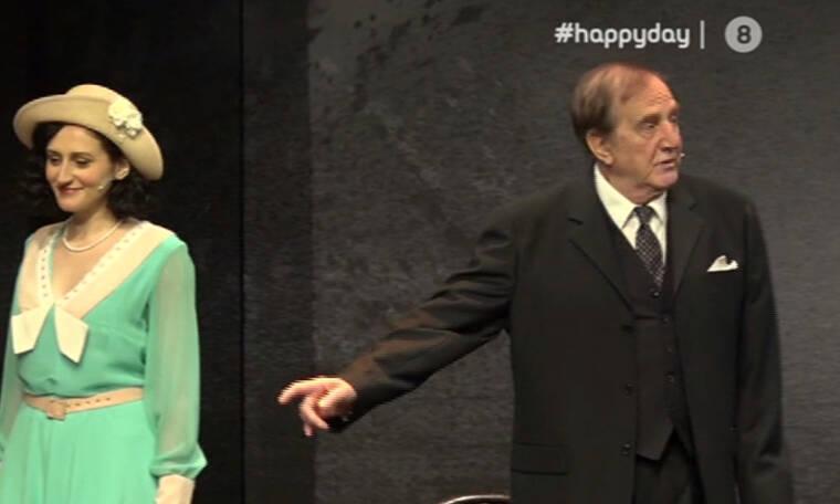 Ο Γ. Κωνσταντίνου στο θέατρο με την κόρη του για πρώτη φορά: «Ντρέπομαι να πω 'πάρτε την κόρη μου'»