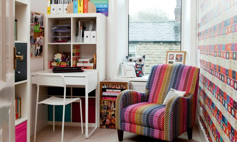 Home office:10 ιδέες για να διαμορφώσεις το μικρό σου γραφείο ώστε να αποπνέει δημιουργικότητα
