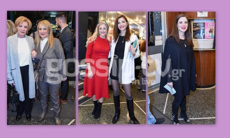Αυτό δεν ήταν θεατρική πρεμιέρα αλλά fashion show - Οι επώνυμες κυρίες που εντυπωσίασαν (photos)