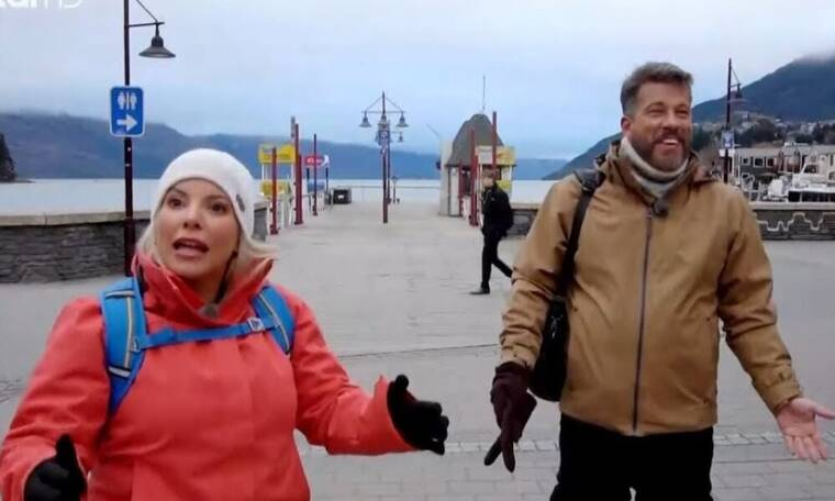 GLOBETROTTERS: Η Αντελίνα με τον Χάρη βρίσκονται στη Τζαμάικα και η πρώτη τους αποστολή τρελαίνει